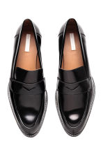 Leather loafers - Black - Ladies | H&M GB 3