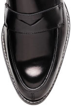 Leather loafers - Black - Ladies | H&M GB 4