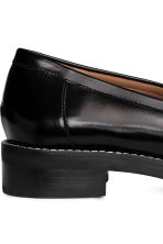 Leather loafers - Black - Ladies | H&M GB 5