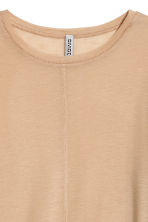 Top in a lyocell blend - Beige - Ladies | H&M 3
