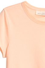 Jersey top - Light apricot - Ladies | H&M CN 3