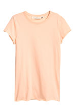 Jersey top - Light apricot - Ladies | H&M CN 2