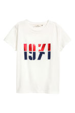 T-shirt in jersey - Bianco - DONNA | H&M IT 2