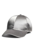 Satin cap - Silver - Ladies | H&M 1