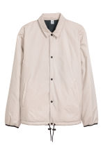 Reversible coach jacket - Beige/Black - Men | H&M 3