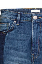 Slim Regular Patchwork Jeans - Azul denim escuro -  | H&M PT 4