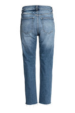 Straight Regular Jeans - Denim blue - Ladies | H&M CN 3