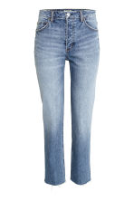 Girlfriend Regular Jeans - Azul denim - SENHORA | H&M PT 2