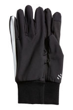 Running gloves  - Black - Men | H&M 1