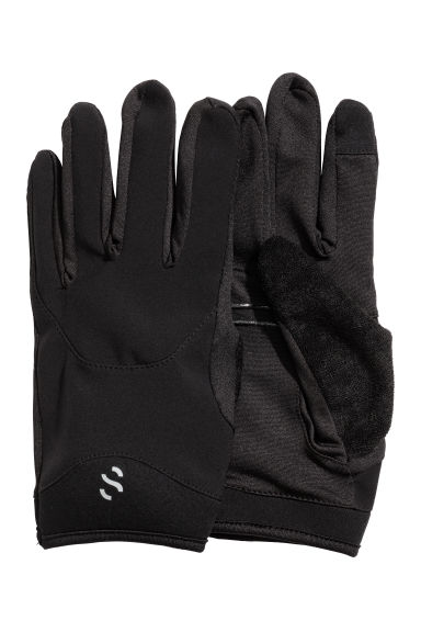 Running gloves - Black - Men | H&M CN 1