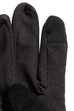 Running gloves - Black - Men | H&M CN 2