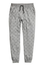 Patterned pyjama bottoms - Grey/Anchor - Men | H&M 2