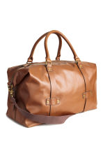 Weekend bag - Cognac brown - Men | H&M CN 2