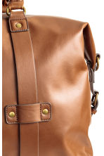 Weekend bag - Cognac brown - Men | H&M 3
