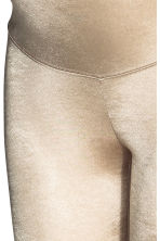 MAMA Shimmering leggings - Gold - Ladies | H&M CN 3