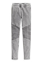 Leggings da biker - Grigio washed out - BAMBINO | H&M IT 2