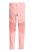 Biker leggings - Washed-out pink - Kids | H&M 2