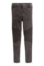 Biker leggings - Black washed out - Kids | H&M 2