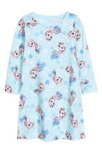 Jersey nightdress - Light blue/Frozen - Kids | H&M 1