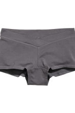 MAMA 2-pack shorts - Light pink/Dark grey - Ladies | H&M 3