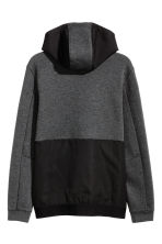Hooded sports jacket - Dark grey marl - Men | H&M 3