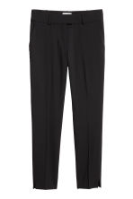 Wool suit trousers - Black - Ladies | H&M GB 2