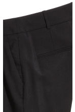 Wool suit trousers - Black - Ladies | H&M 4
