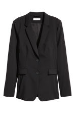 Wool-blend jacket - Black - Ladies | H&M CN 2