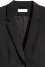 Wool-blend jacket - Black - Ladies | H&M CN 3