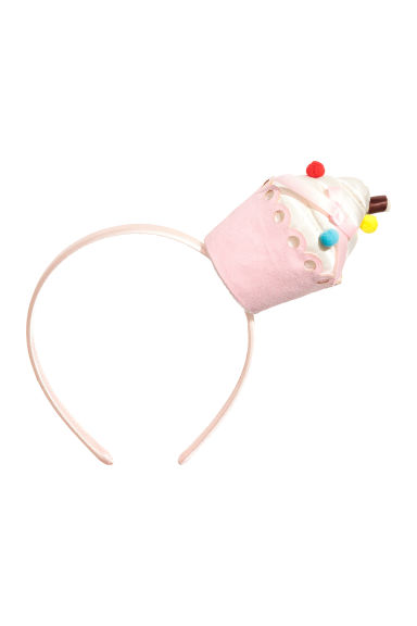 Cupcake Alice band - Light pink - Kids | H&M CN 1