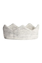 Fine-knit hairband - Light grey marl - Kids | H&M 1