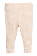 Bodysuit and leggings - Light beige - Kids | H&M CN 2