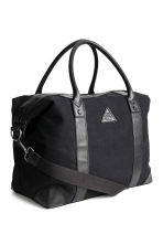Canvas weekend bag - Black - Men | H&M CA 2