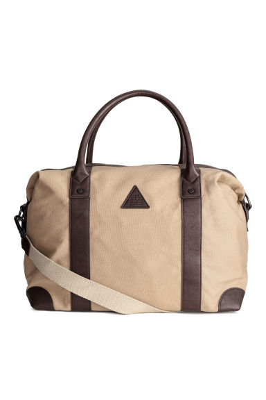 Canvas weekend bag - Beige - Men | H&M CN 1