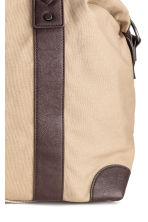 Canvas weekend bag - Beige - Men | H&M CN 3