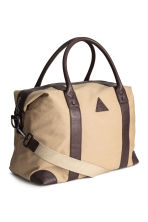Canvas weekend bag - Beige - Men | H&M CN 2