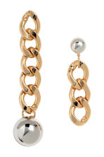 Large earrings - Gold - Ladies | H&M 1