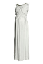 MAMA Maxi dress - Light grey - Ladies | H&M 2