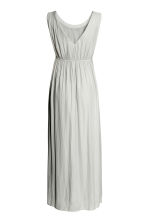 MAMA Maxi dress - Light grey - Ladies | H&M 3