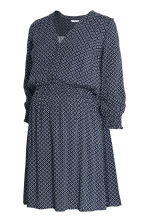 MAMA Nursing dress - Dark blue/Patterned - Ladies | H&M 2