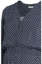 MAMA Nursing dress - Dark blue/Patterned - Ladies | H&M 3