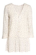 MAMA Nursing blouse - Natural white/Floral - Ladies | H&M 2