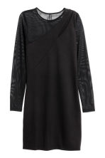 Cut-out dress - Black - Ladies | H&M 2