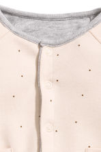 Reversible jersey cardigan - Grey marl - Kids | H&M CN 3