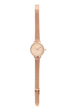 Metal watch - Rose gold - Ladies | H&M CN 2