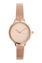Metal watch - Rose gold - Ladies | H&M CN 1