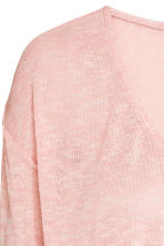 Wrapover jumper - Powder pink - Ladies | H&M 3
