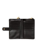 Purse with shoulder strap - Black - Ladies | H&M CN 2