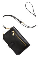 Purse with shoulder strap - Black - Ladies | H&M CN 3