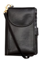 Purse with shoulder strap - Black - Ladies | H&M CN 1